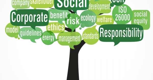 leverages corporate social responsibility Corporate social responsibility is a management concept whereby companies integrate social and environmental concerns in their business operations and interactions with their stakeholders.